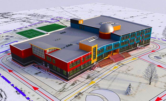 Проект здания МАШ